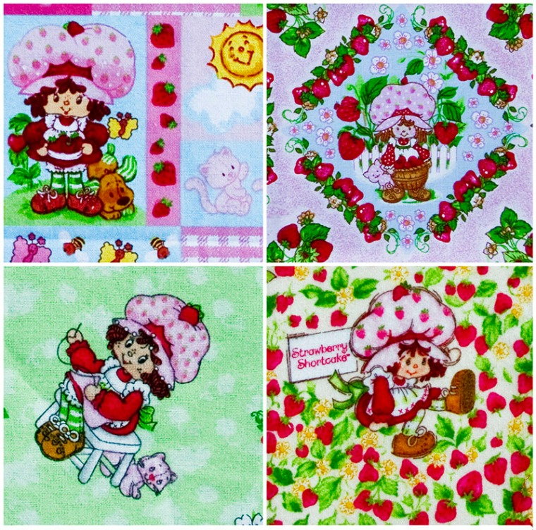 Strawberry Shortcake Collage