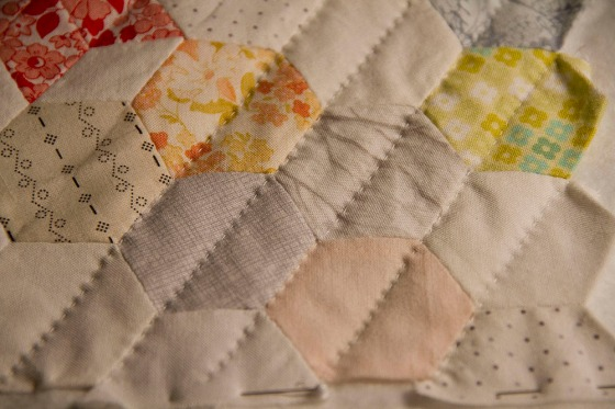 Hand Quilting detail