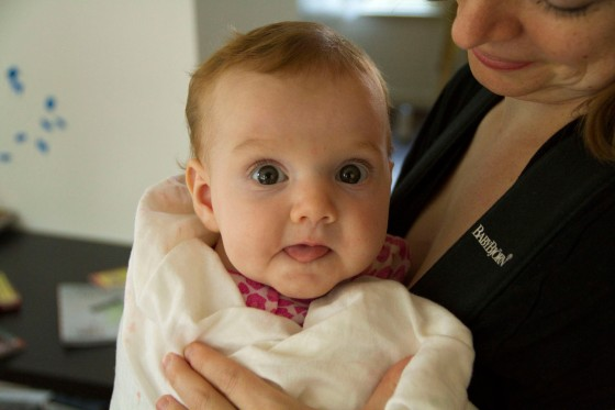 Vivian at 4 months