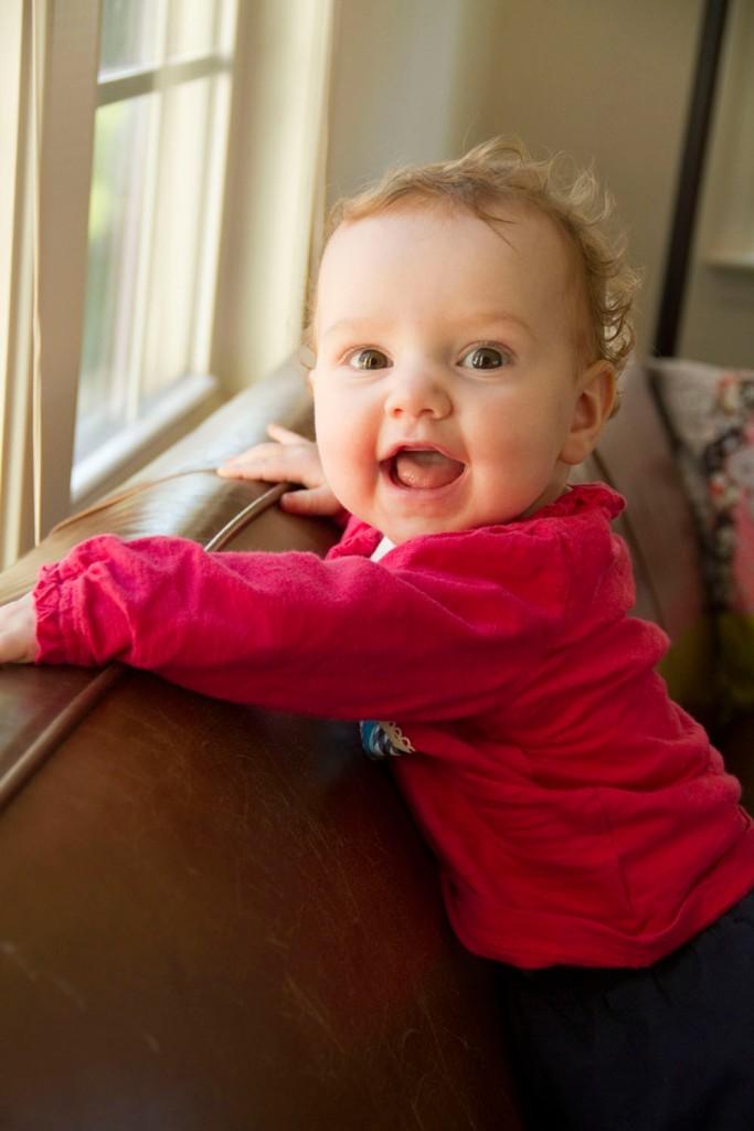 Vivian at 7 months