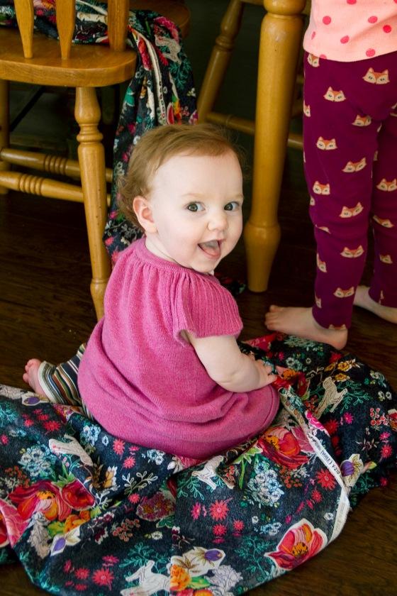 Vivian at 9 months
