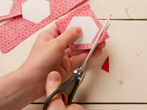 Fabric cutting is a snap!